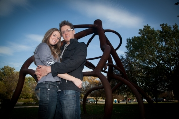 Chicago engagement photo by Steve Rotter