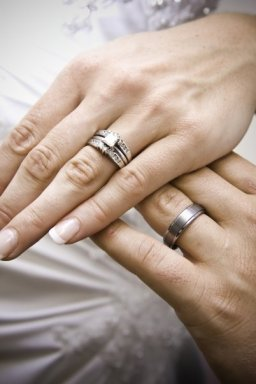 Chicago wedding rings by Steve Rotter