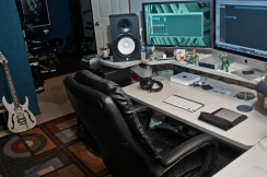 My editing suite at Rotter studios