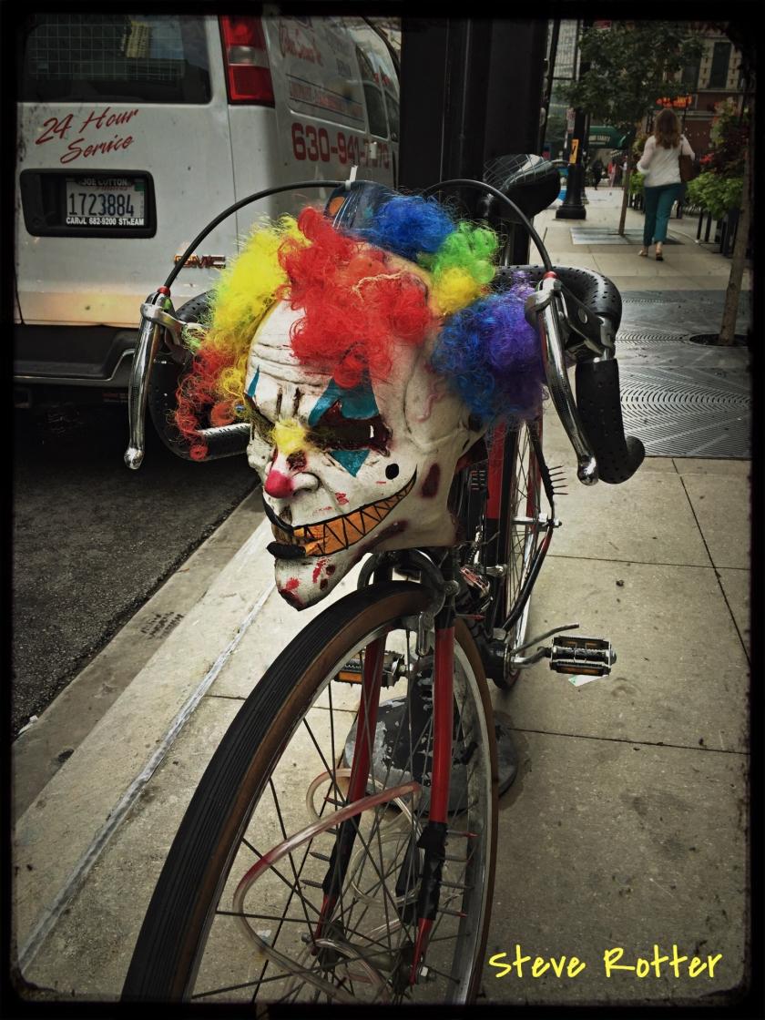 clown in chicago
