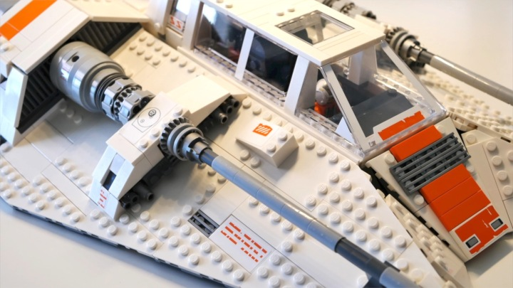 lego snowspeeder 75144 speed build