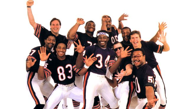 superbowl shuffle chicago bears superbowl champions 1986