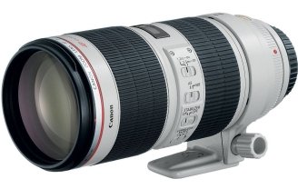 Canon EF 70-200mm f/2.8L IS II USM Telephoto Zoom Lens for Canon DSLR Cameras