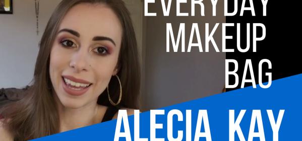 everyday makeup bag tips from alecia kay