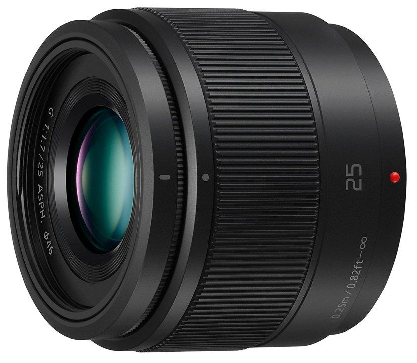 panasonic 25mm f1.7 prime lens