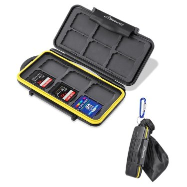 sd memory card carry case