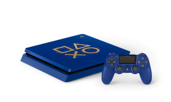 ps4 limited edition blue console