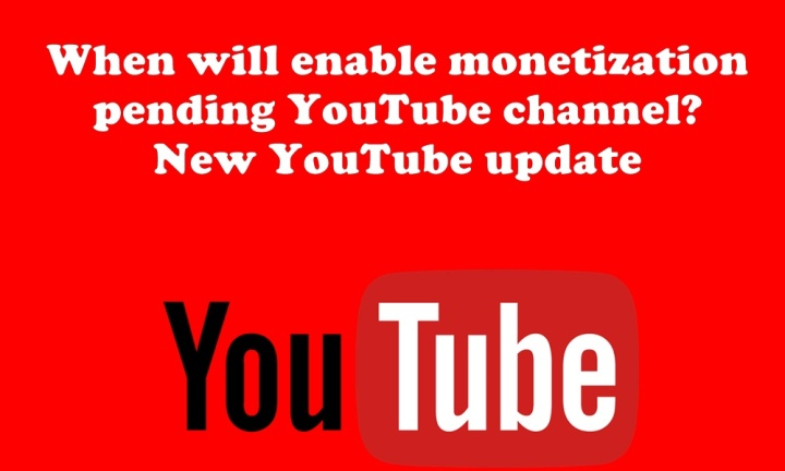 youtube monetization is enabled for my channel6-21-2018!