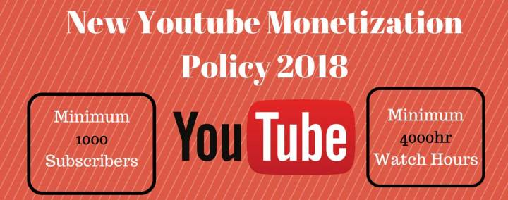 youtube monetization issues will last until end of june 2018 or longer