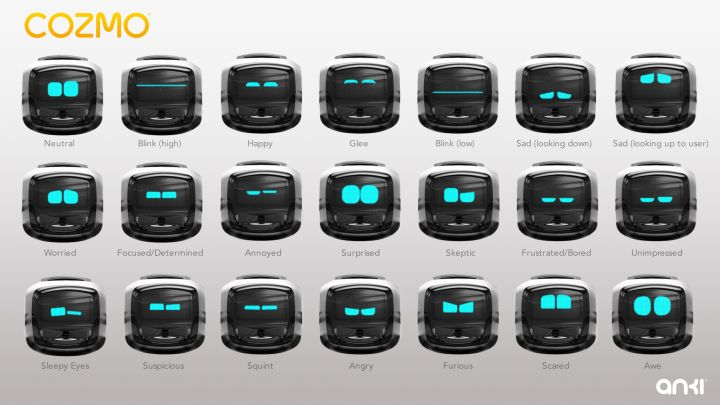the many emotions of cozmo the robot by anki