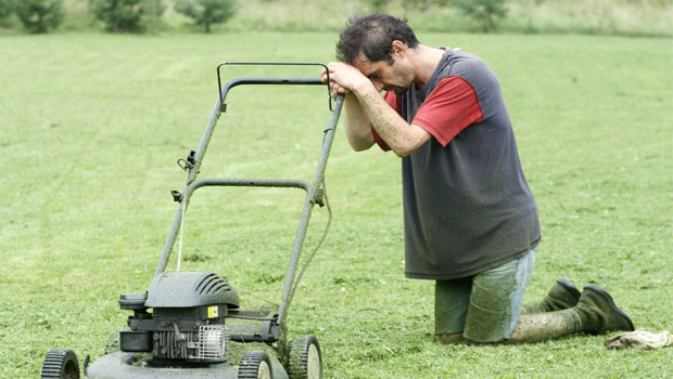 how to fix lawn mower not starting