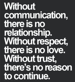 trust and jealousy in a relationship