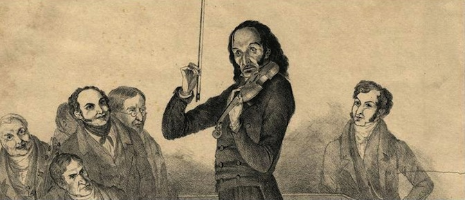 niccolo paganini violin composer viruoso
