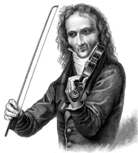 Niccolò Paganini; 27 October 1782 – 27 May 1840) was an Italian violinist, violist, guitarist, and composer.