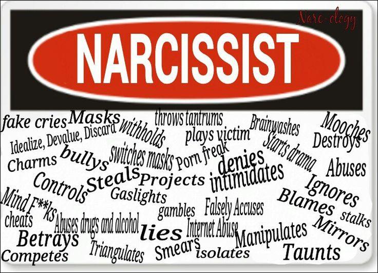 a narcissist is a sociopath manipulator
