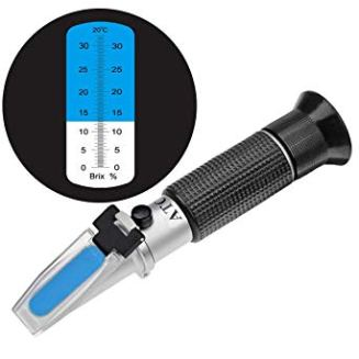 how to measure salt in saltwater tank with refractometer