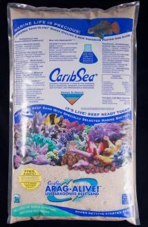how to lower nitrates with a deep sand bed in saltwater tank