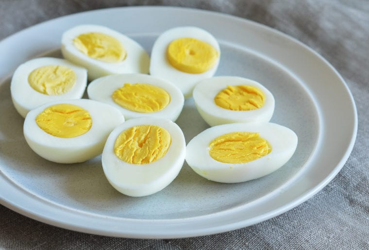 How to make hard boiled eggs that peel easily.