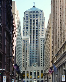 Chicago board of trade also known as CBOT