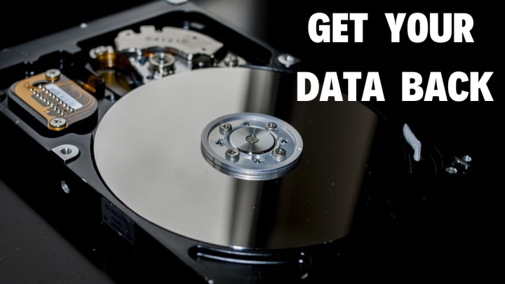 how to get your data back from bad hard drive